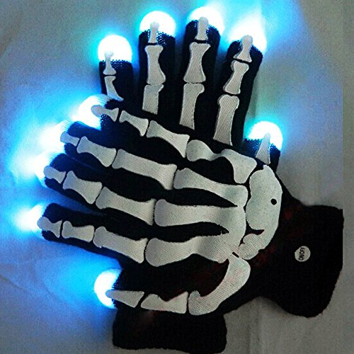 RGB-CRNEO-Raver-Guante-LED-7Colors-Luz-Mostrar-Guantes-Guantes-HALLOWEEN-0