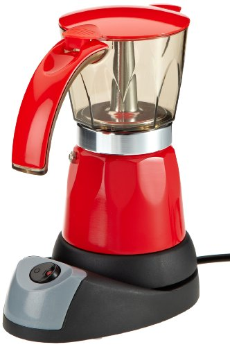 Tv-Das-Original-02609-Coffeemaxx-Cafetera-Italiana-elctrica-color-rojo-0