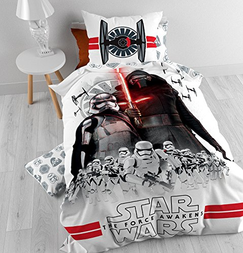 Star-Wars-The-Clone-Wars-Set-ropa-de-cama-Blanco-0